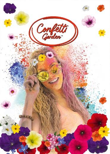 Confetti Garden creates happiness!